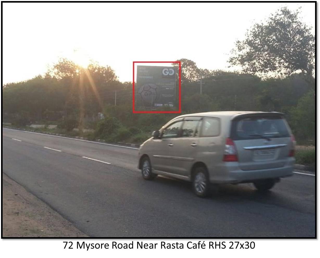 Mysore Road Near Rasta Caf