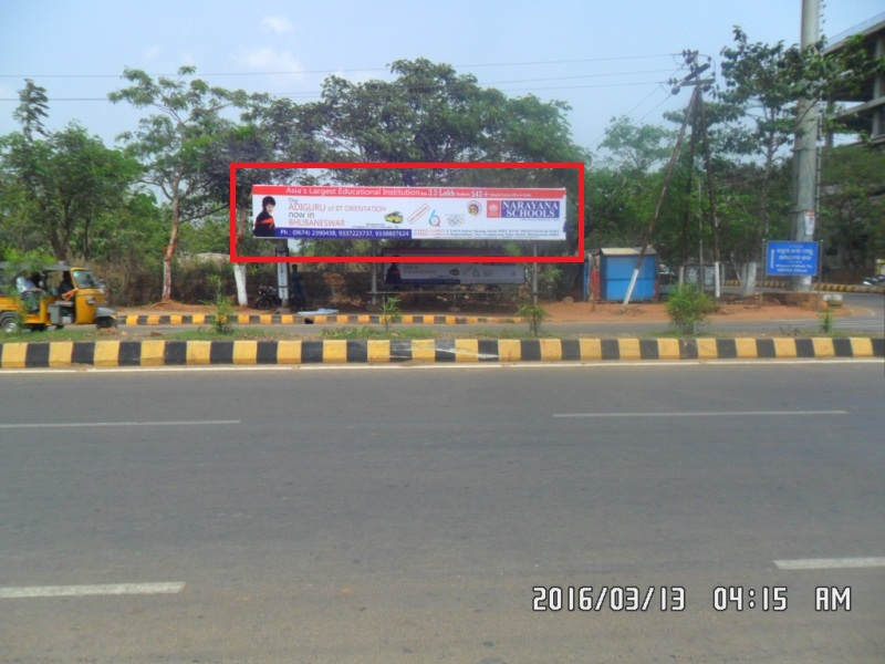 Press chhak bus shelter, Bhubaneswar