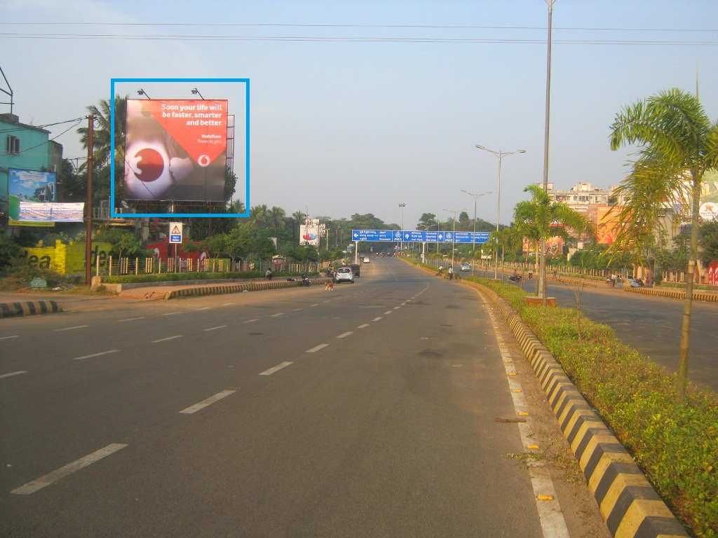 Airport exit point, Bhubaneswar