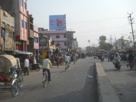 Station road down , Hanjipur