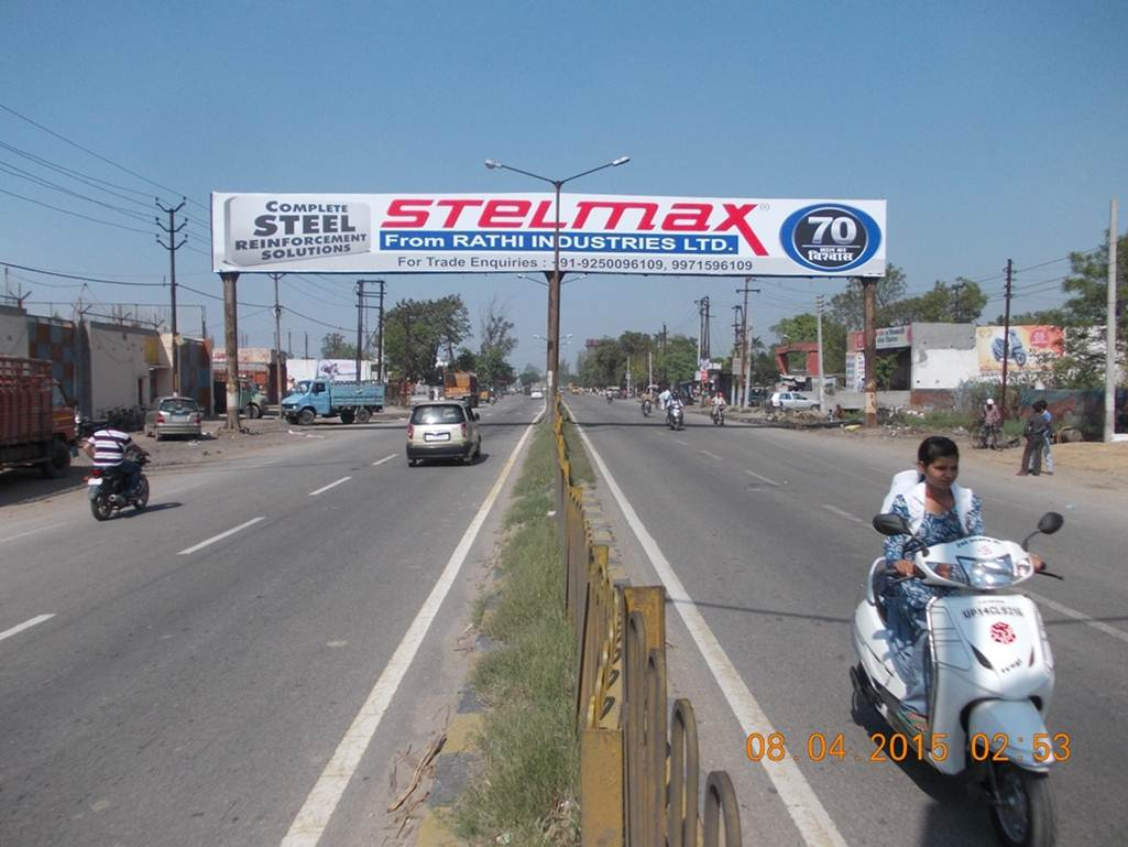 Sikheda road, Modinagar
