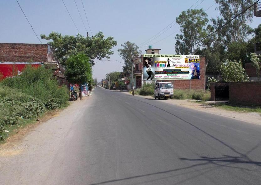 Railway crossing ring road, Bijnor