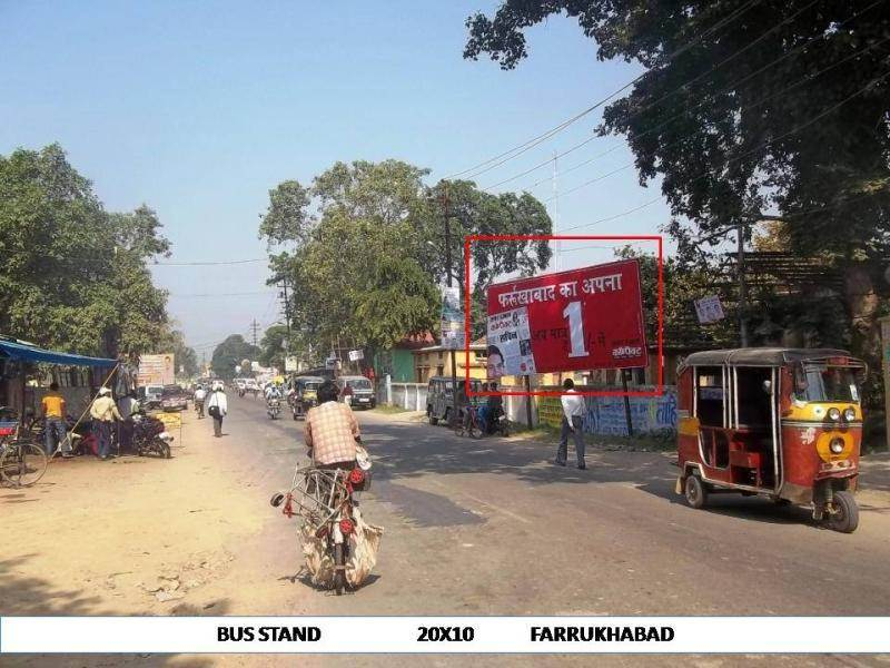 Bus Stand, Farrukhabad