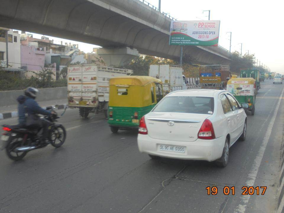 Lawrence Road Flyover  Nr. PWD Office Site