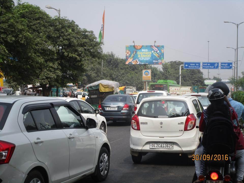 HP Petrol Pump Peera  garhi  Flyover, Delhi
