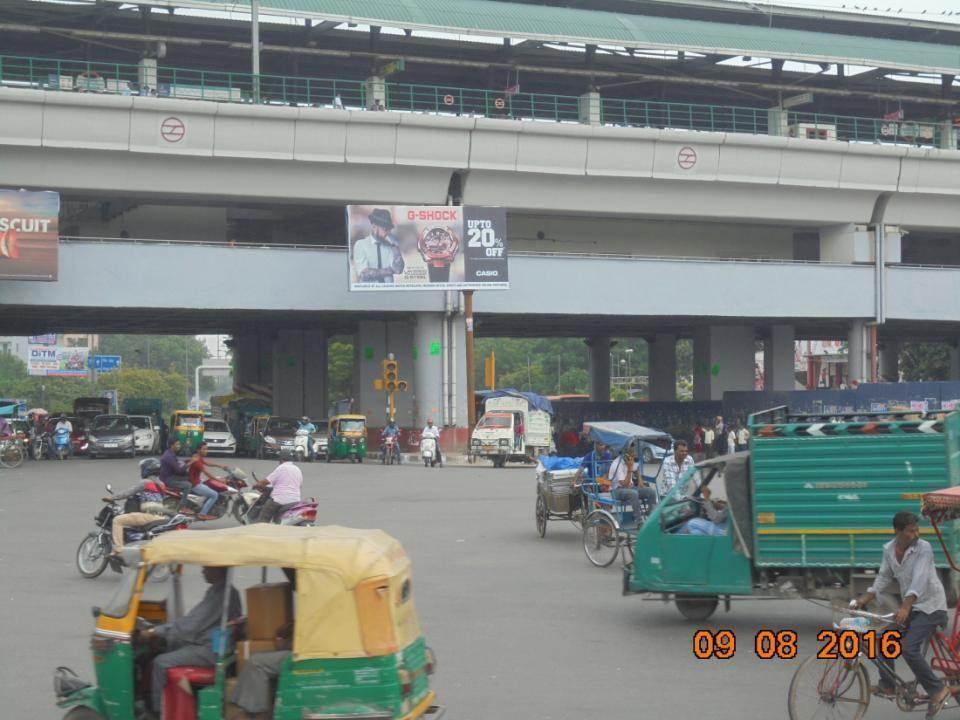 Inderlok Metro Station Site 2, Delhi