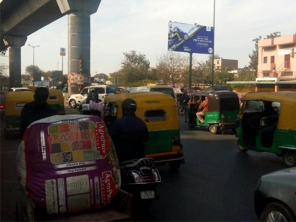 Ashok Park Metro Station, Delhi