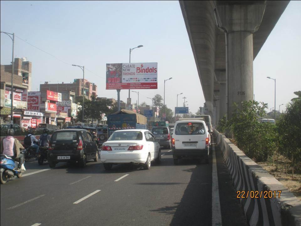 Jahangir Puri Metro Station, Delhi