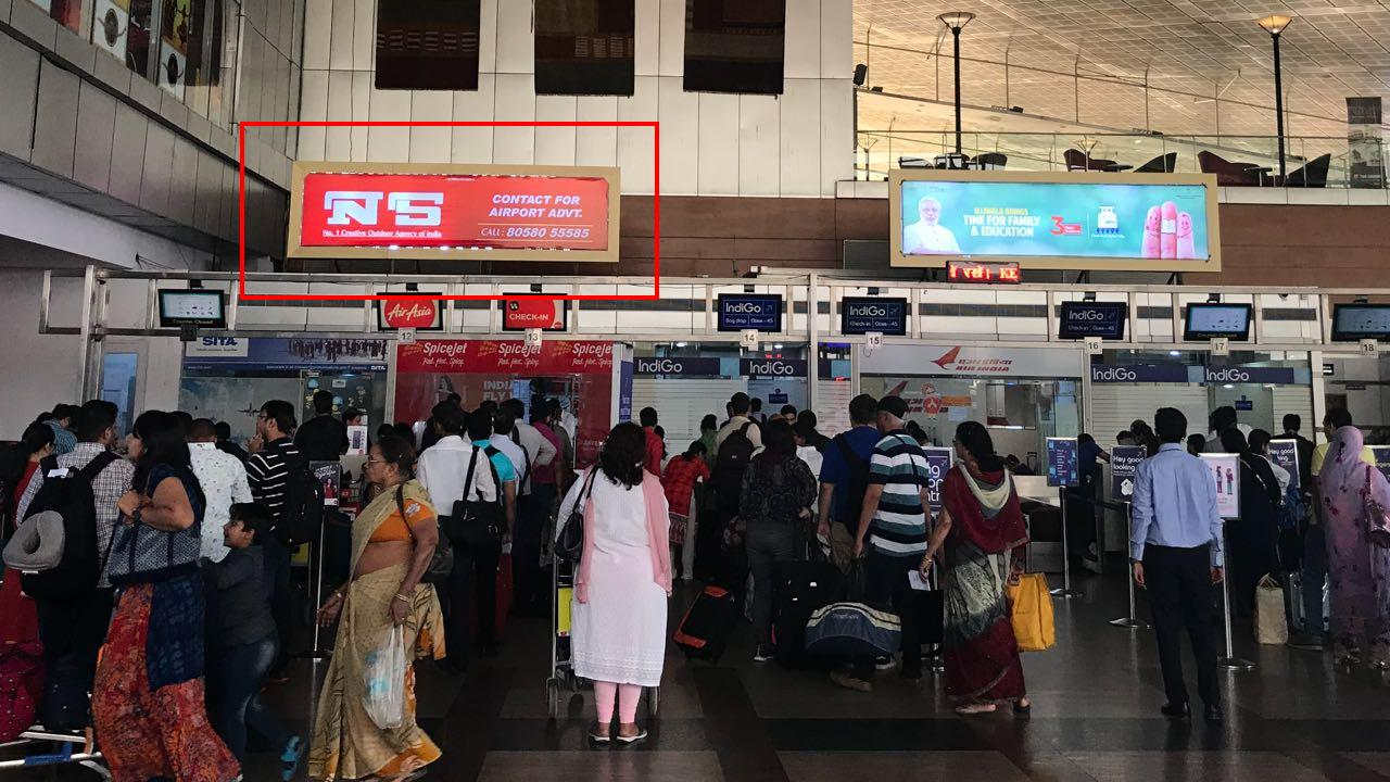 Departure Lounge Above Jet Checkin, Jaipur