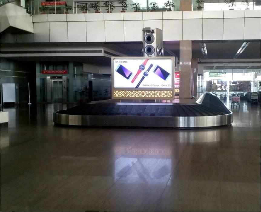 Arrival Lounge Onconveyor belt no.1, Jaipur
