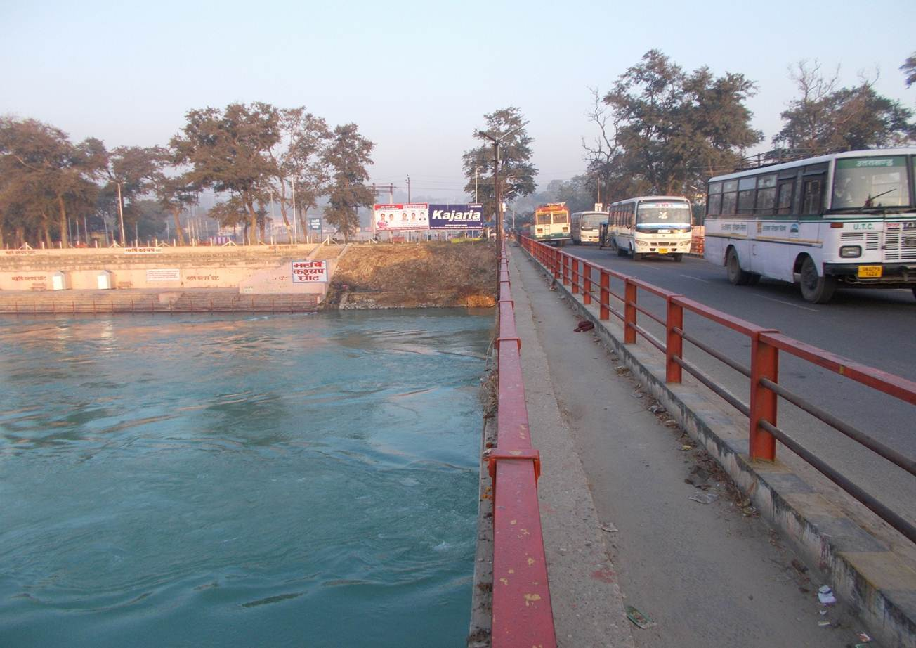 Rishikul Bridge (Entrance Haridwar Way to ISBT), Haridwar