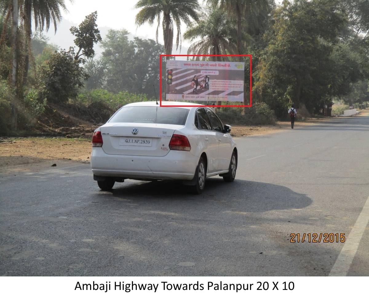 Ambaji Highway, Ambaji