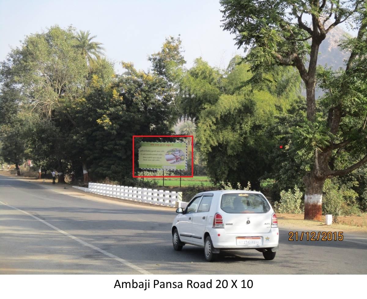 Pansa Road, Ambaji
