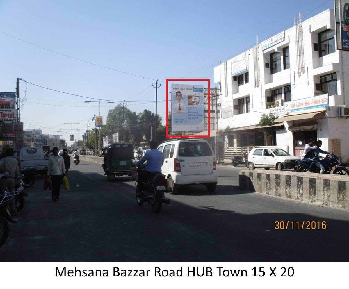 Bazzar Road HUB Town, Mehsana