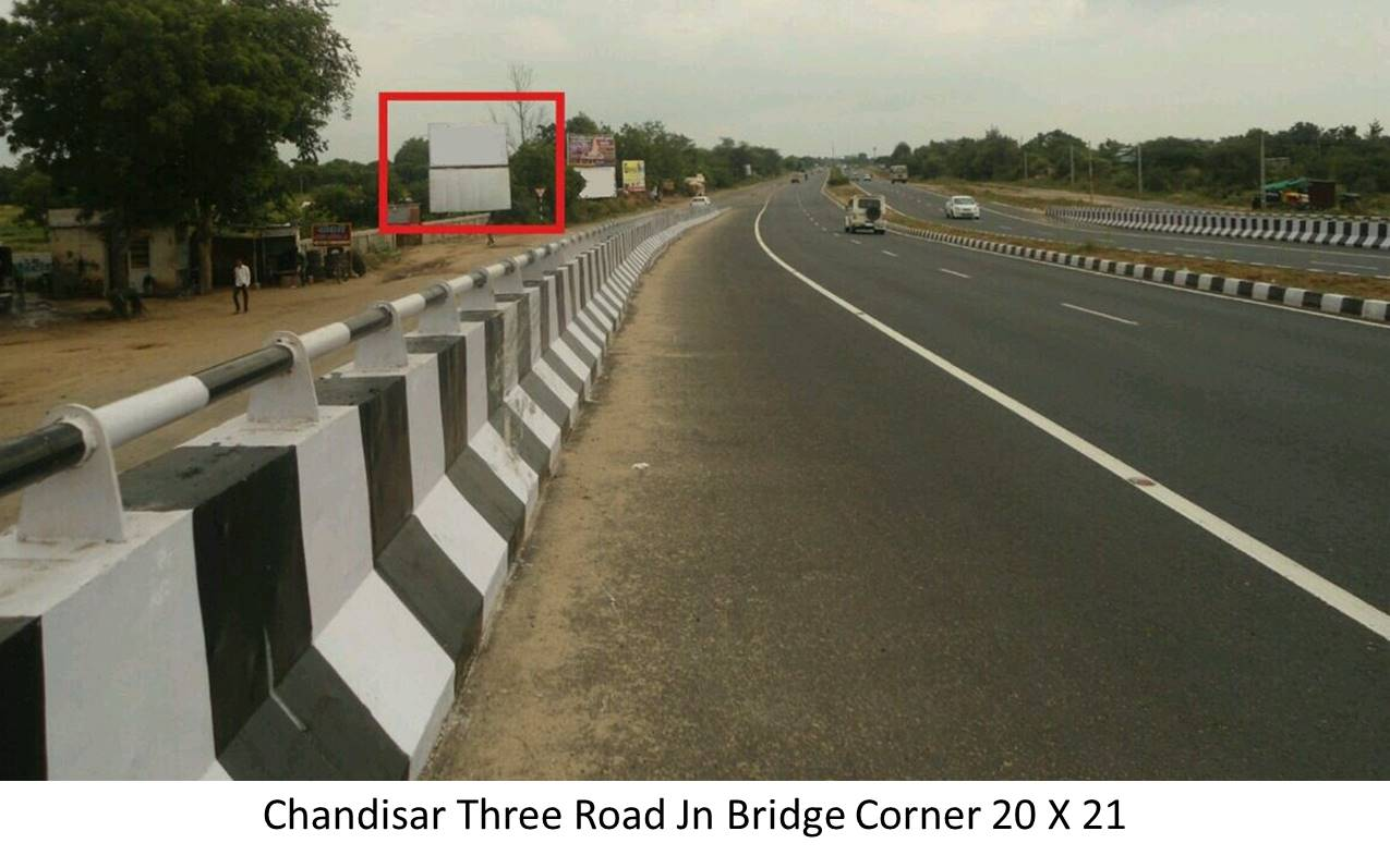 Three Road Jn Bridge Corner, Chandisar