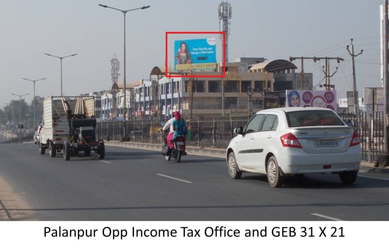Opp Income tax office and GEB, Palanpur