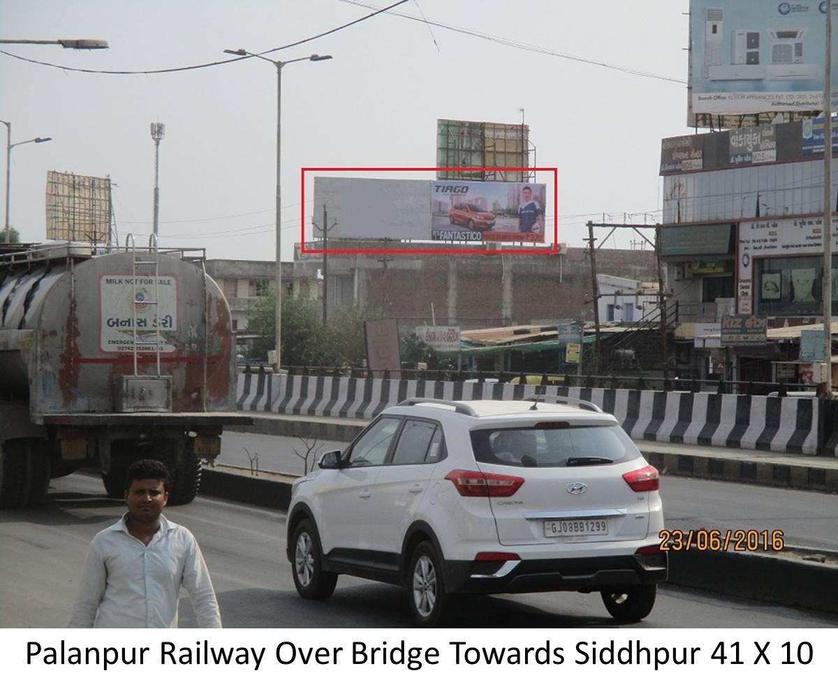 Railway Over Bridge, Palanpur