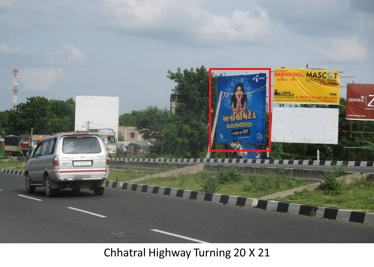Highway Turning, Chhatral