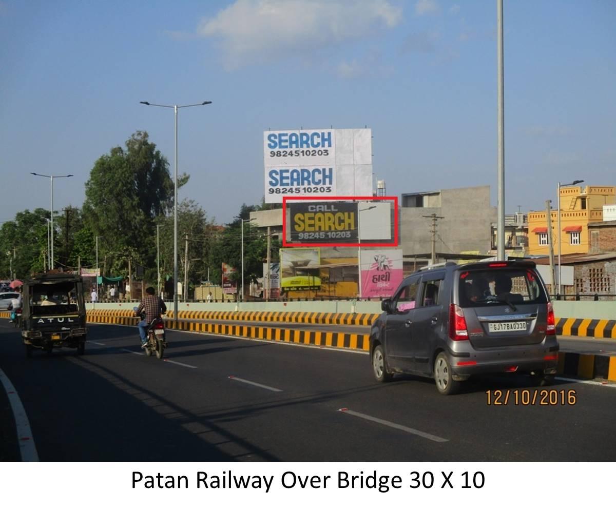 Railway Over Bridge, Patan
