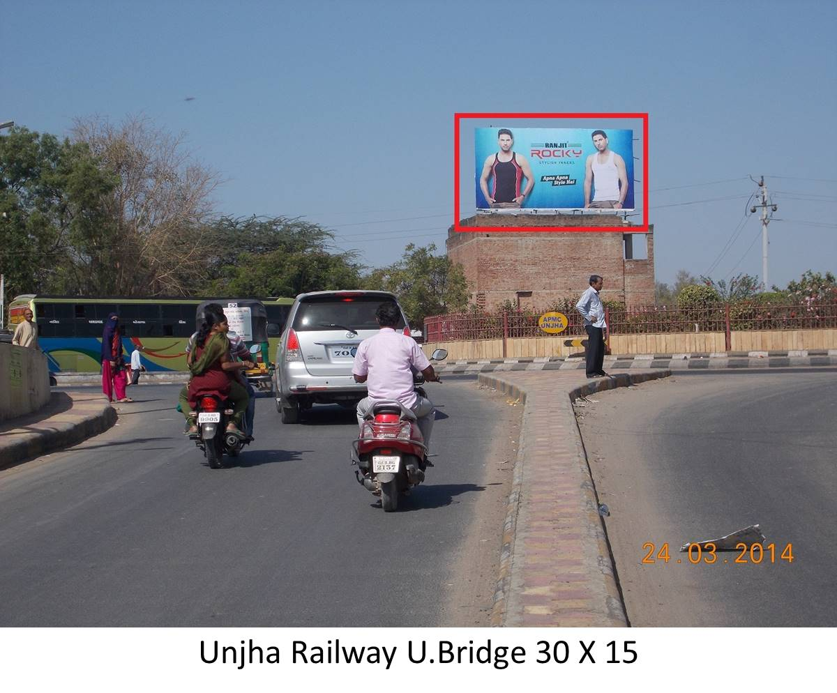 Railway U.Bridge, Unjha