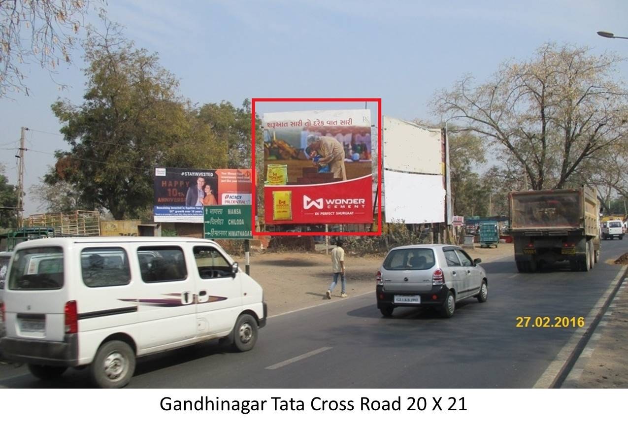 Tata Cross Road, Gandhinagar