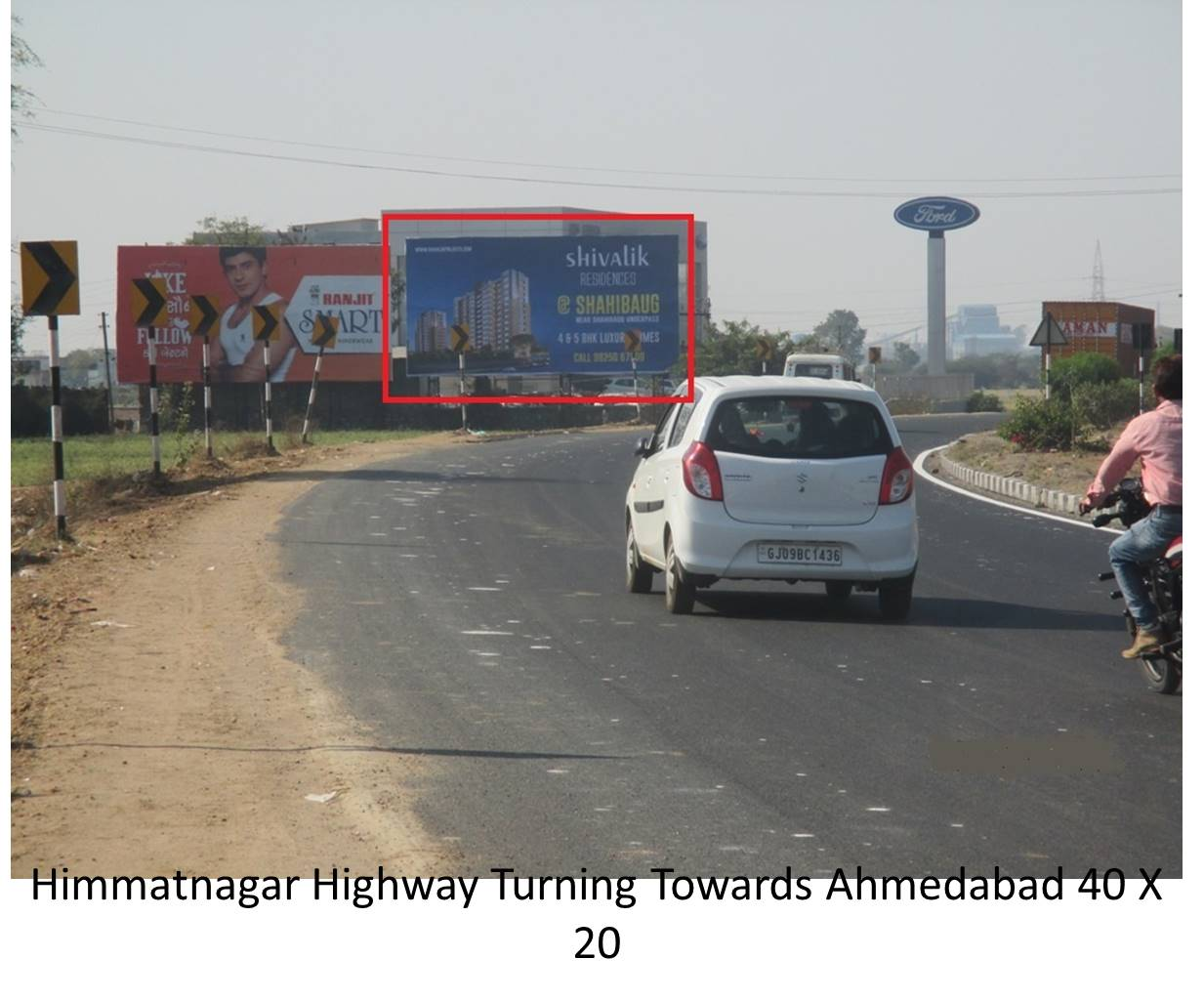 Highway Turning, Himatnagar
