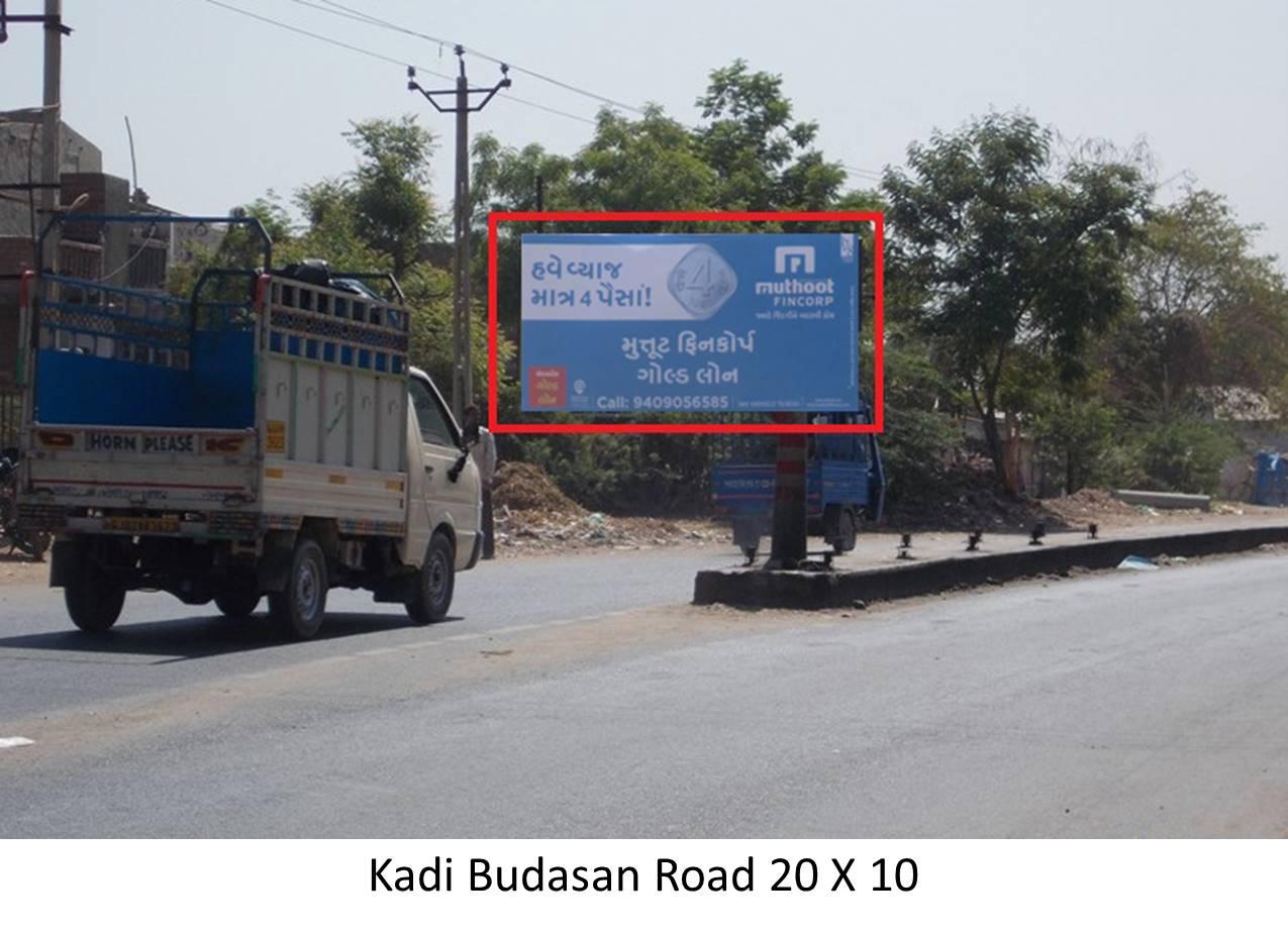 Budasan Road, Kadi