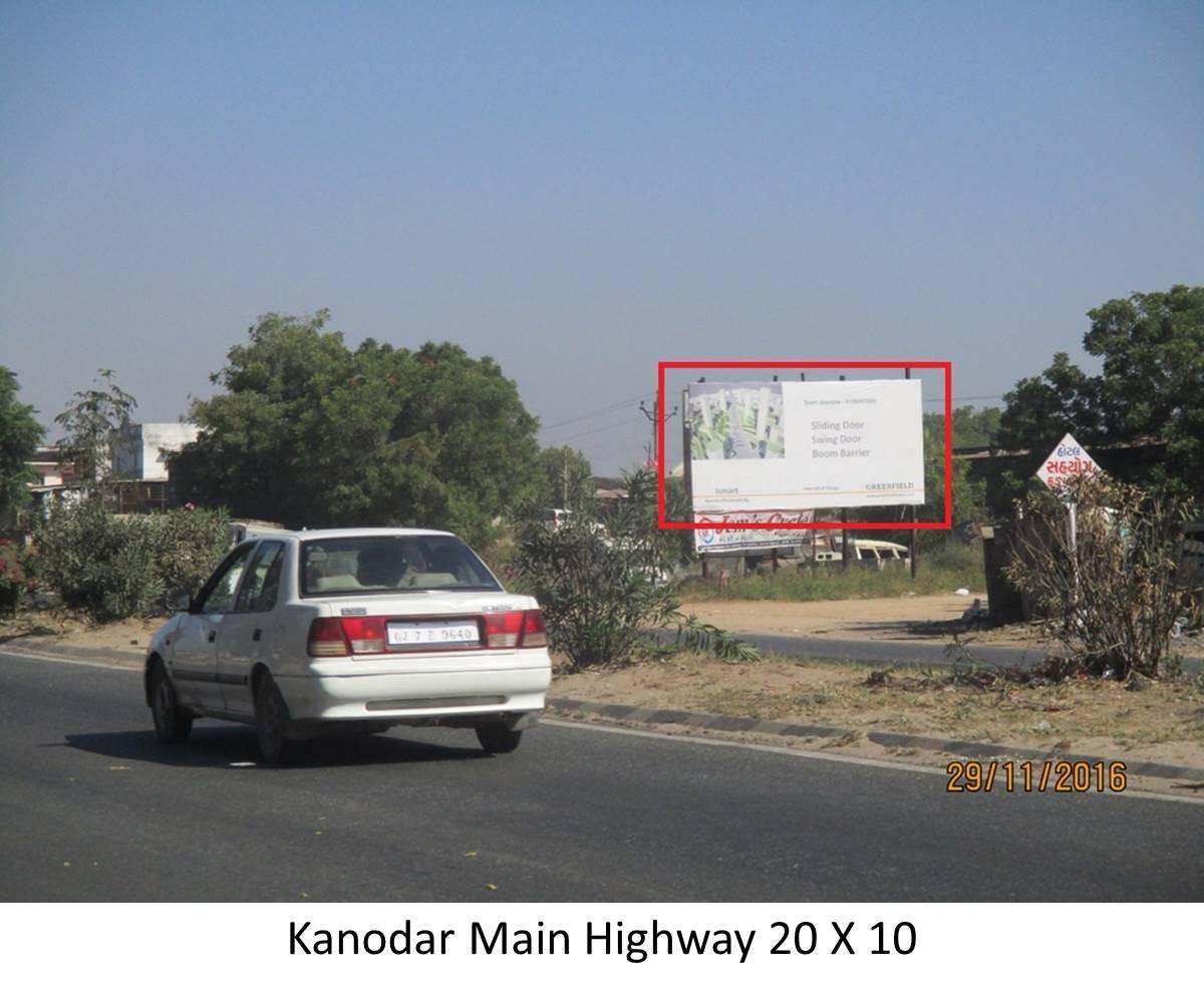Main Highway, Kanodar