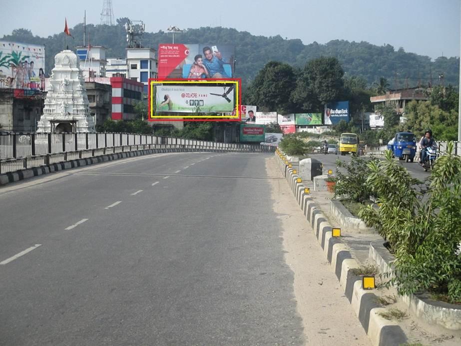 Chandmari Flyover,Guwahati