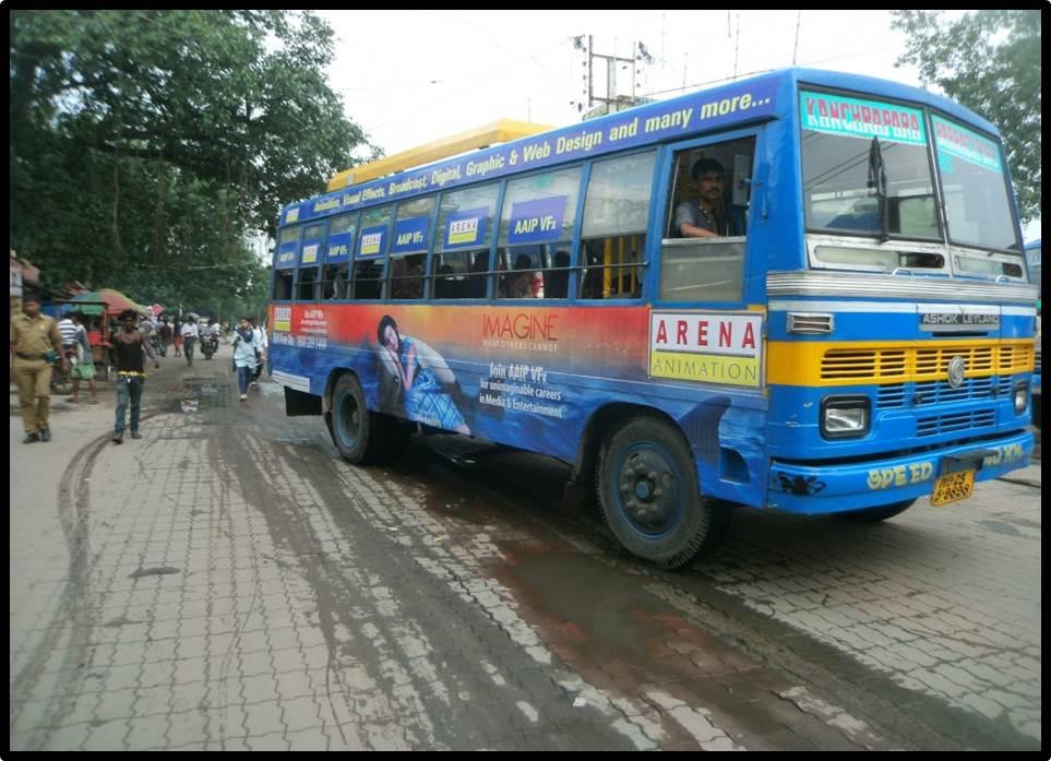 Non Ac Full Bus Branding, Kolkata