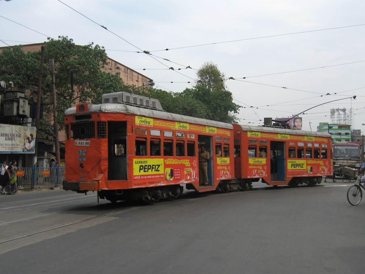 Tram Branding, Kolkata