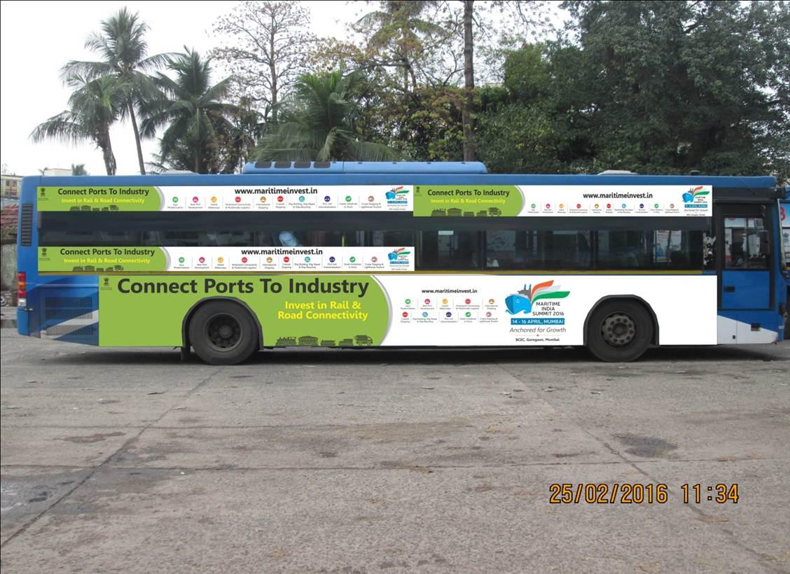 Volvo Bus Branding, Kolkata