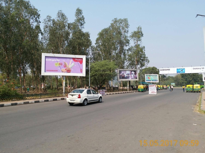 Railway Station Exit Left Side-3, Chandigarh