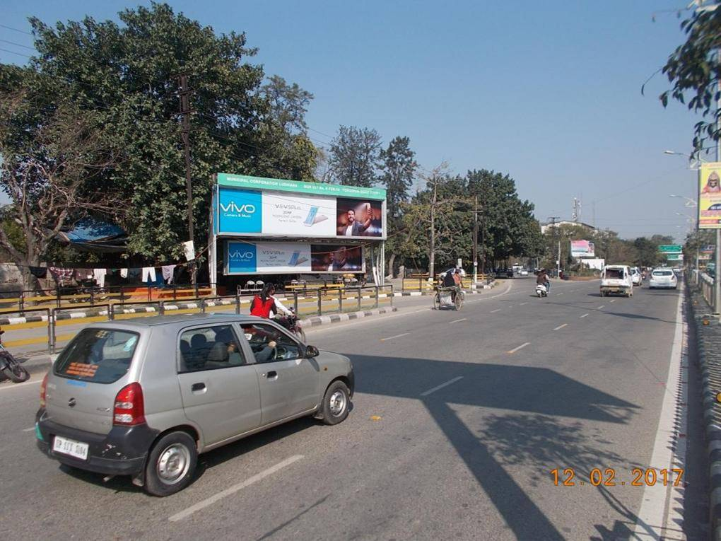 Ferozpur Road Mini Secretariat Traffic Lights Left Panel, Ludhiana