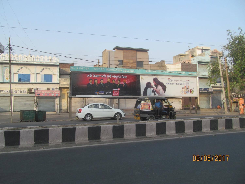 Jagraon Bridge Outside Ramgaria College Right Panel, Ludhiana
