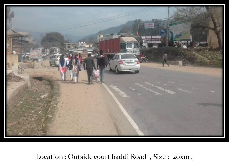 Outside court baddi Road, Nalgarh