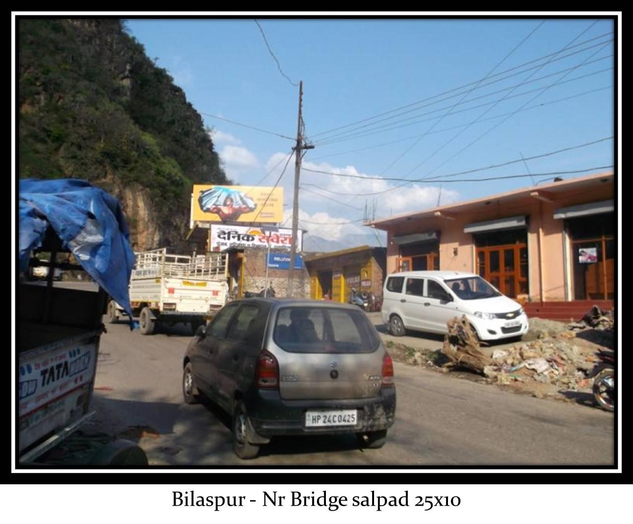 Nr Bridge salpad, Bilaspur