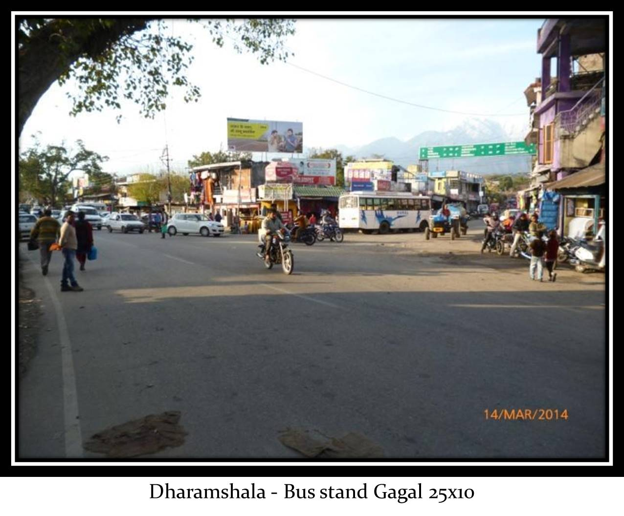 Bus stand Gagal, Dharamshala