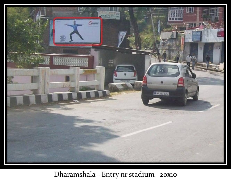 Entry nr stadium, Dharamshala