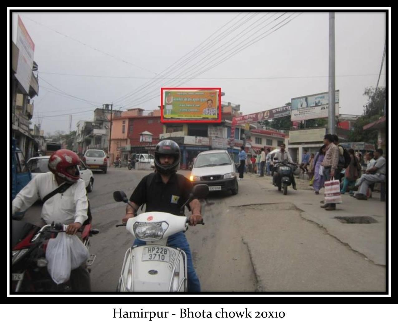 Bhota chowk, Hamirpur