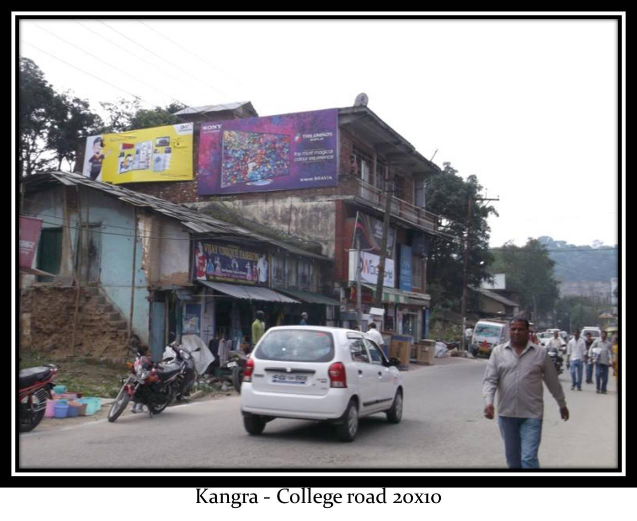College road Market, Kangra