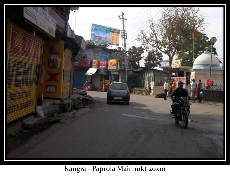 Paprola Main market, Kangra