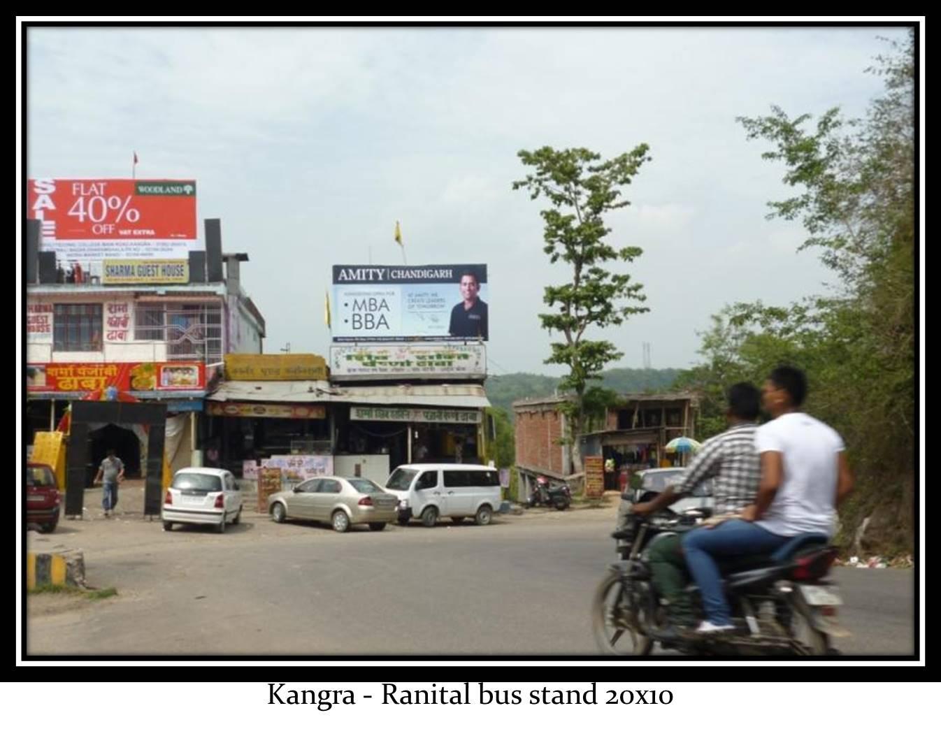 Ranital bus stand, Kangra