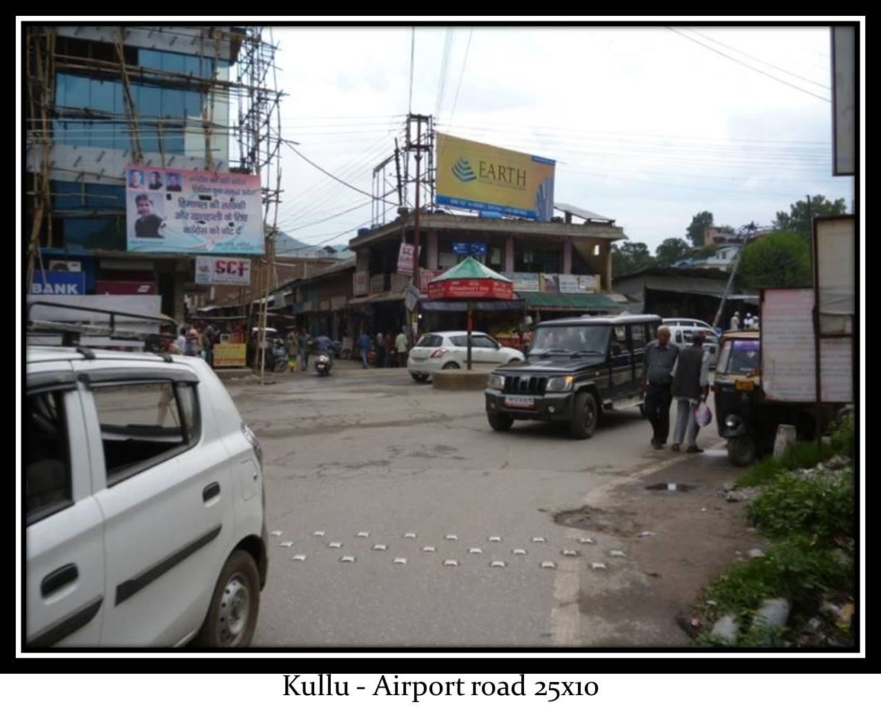 Airport road, Kullu