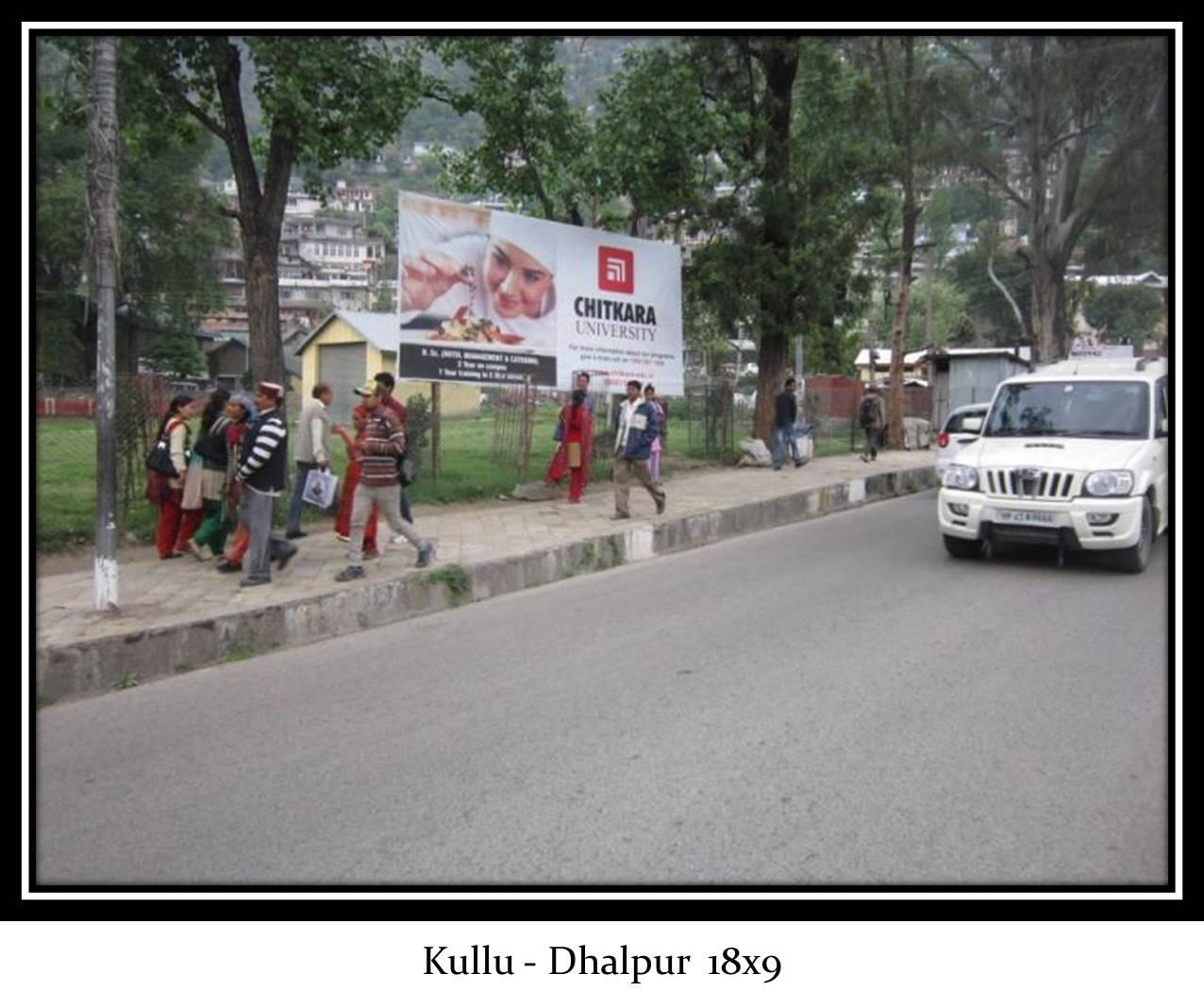 Dhalpur, Kullu