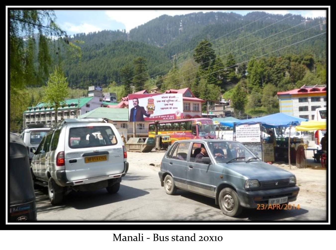 Bus stand, Manali