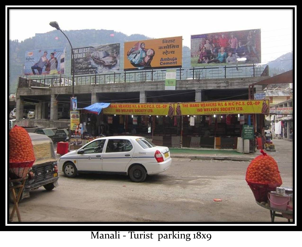 Turiest parking, Manali