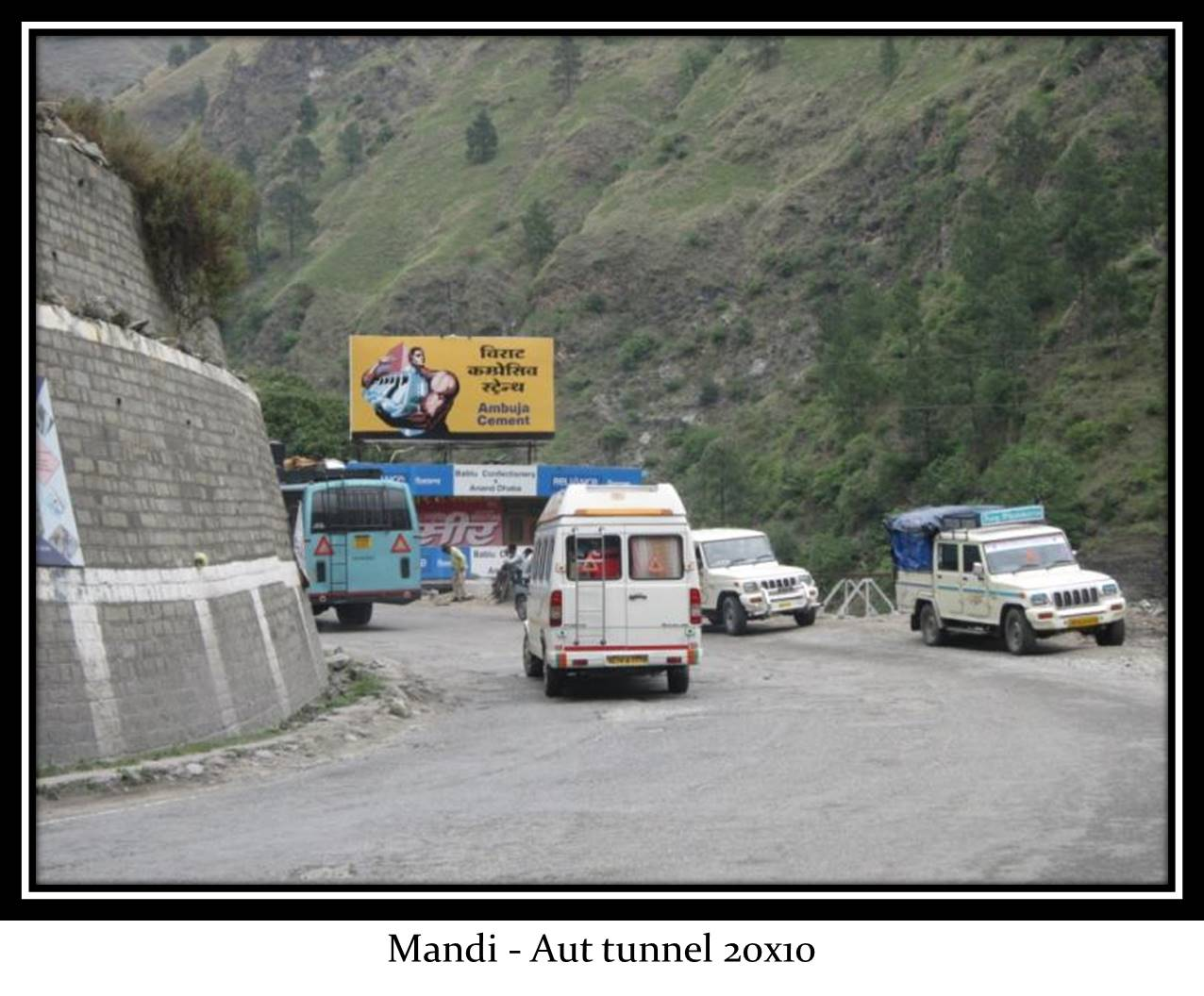 Aut tunnel, Mandi