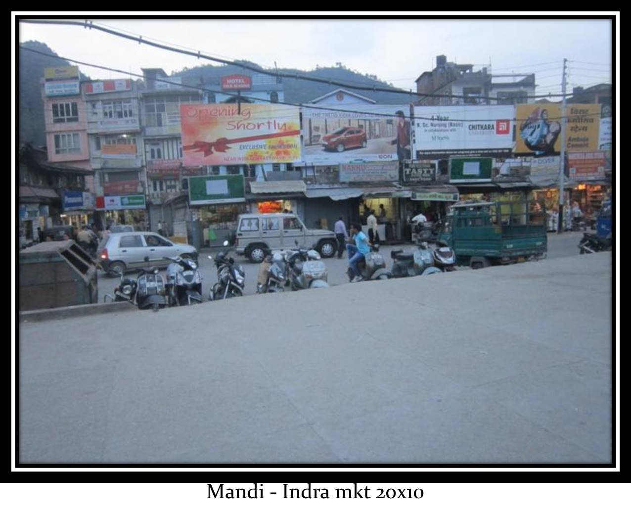 Indera market, Mandi