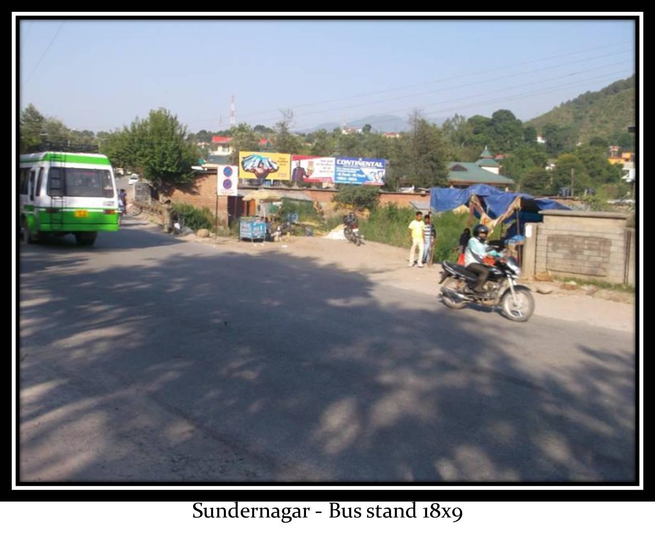 Bus stand, Sundar Nagar